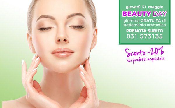 BEAUTY DAY – giornata gratuita di trattamento cosmetico 31 maggio 2018
