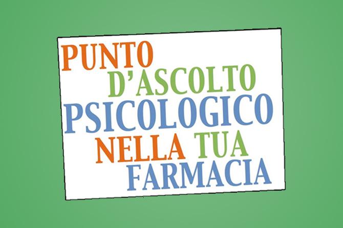 Punto di Ascolto Psicologico in farmacia SU RICHIESTA a Tavernola