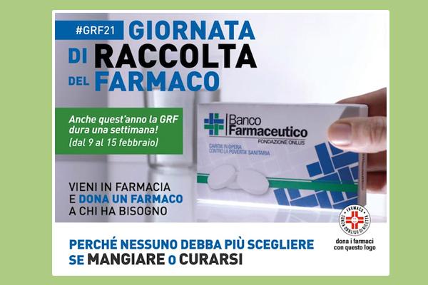 Torna la Giornata di Raccolta del Farmaco anche nella nostra Farmacia